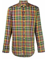 Etro Tartan Check Long Sleeve Shirt