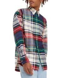 Tommy Jeans Tjm Plaid Crest Sport Shirt