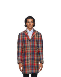 Etro Multicolor Wool Coat