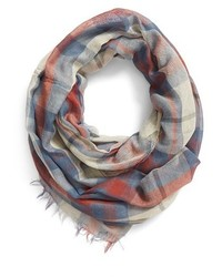 Junior Plaid Infinity Scarf