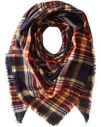 Collection XIIX College Plaid Runway Wrap Scarf