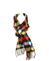 David & Young Winter Plaid Scarf
