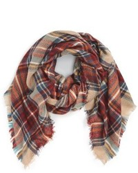 Fantasia Accessories Plaid Square Scarf