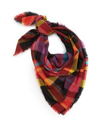 BP. Multicolor Plaid Scarf