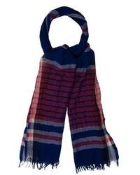 Paul Smith Plaid Wool Scarf