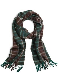 Brooks Brothers Two Color Plaid Scarf