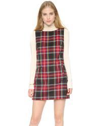 Harlow tartan plaid shift dress medium 338517