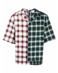 Lanvin Plaid Gingham Shirt