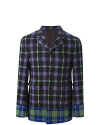 Multi tartan blazer multicolour medium 7130984
