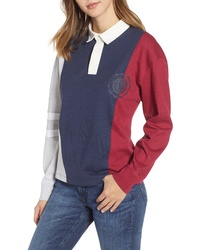 Tommy Jeans Colorblock College Polo