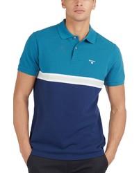 Barbour Colorblock Polo Shirt