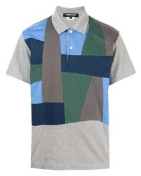 Comme des Garcons Homme Deux Comme Des Garons Homme Deux Patchwork Short Sleeve Polo Shirt