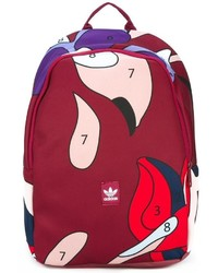 adidas Originals Abstract Print Large Backpack