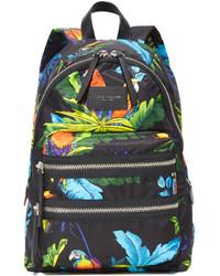 Marc Jacobs Parrot Printed Biker Backpack