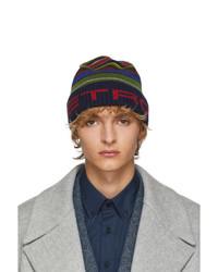 Etro Multicolor Berreto Tricot Hat