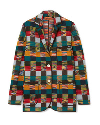 Missoni Checked Wool Blazer
