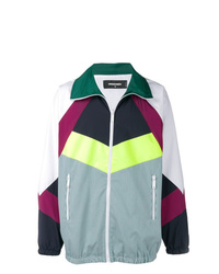 DSQUARED2 Colourblock Check Track Jacket