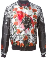 big discount of 2019 amazing quality info for Men's Multi colored Bomber Jackets by Dolce & Gabbana ...