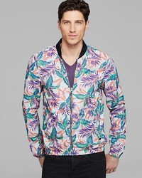 Scotch & Soda Floral Printed Bomber Jacket