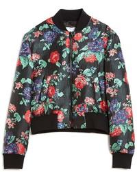 MSGM Roses Bomber Jacket