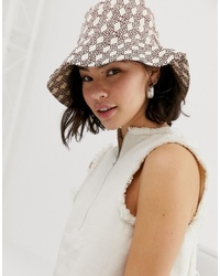 ASOS DESIGN Monogram Bucket Hat