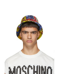Moschino Multicolor Printed Bucket Hat