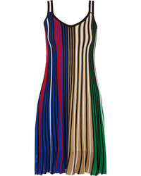 Kenzo Med Striped Knitted Dress