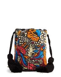 Sole Society Kipp Beaded Tassel Crossbody Bag
