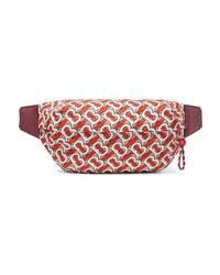 Burberry Med Printed Shell Belt Bag