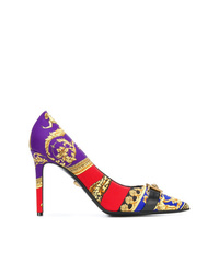 Versace Pointed Toe Stiletto Pumps