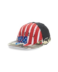 Vetements Cut Up America Baseball Cap