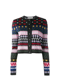 Mary Katrantzou Multi Jacquard Cardigan