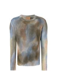 Multi colored Print Crew-neck Sweater