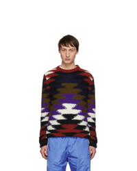 Moncler 2 1952 Multicolor Crewneck Sweater