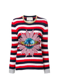 Gucci Sequined Planet Jumper