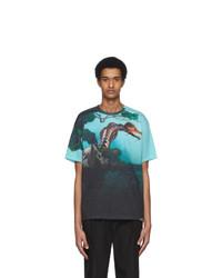 Valentino Multicolor Dragon Garden T Shirt