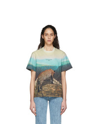 Stella McCartney Multicolor Leopard 2001 T Shirt