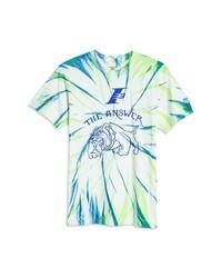 Reebok X Allen Iverson Bulldog Tie Dye Graphic Tee