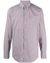 Etro Abstract Print Button Down Shirt