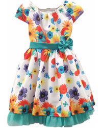 Dorissa By Sugar Plum Hailey Colors Flowers Dress