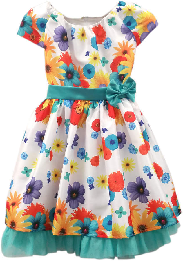 Dorissa By Sugar Plum Hailey Colors Flowers Dress