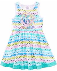 My Little Pony Rainbow Stripe Star Print Dress Toddler Girls