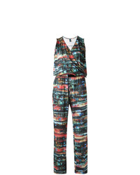 Lygia & Nanny Abstract Print Jumpsuit