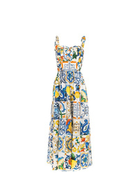 Dolce & Gabbana Printed Flared Jumpsuit