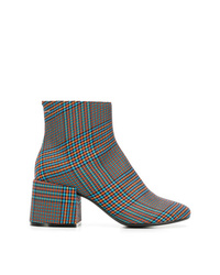 MM6 MAISON MARGIELA Checked Ankle Boots