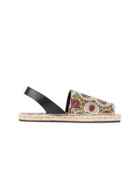 Etro Printed Espadrille Sandals