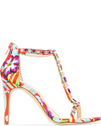 90e86ca1b52 ... Multi colored Print Leather Heeled Sandals INC International Concepts  Rylee High Heel Sandals INC International Concepts Rylee High Heel Sandals  ...