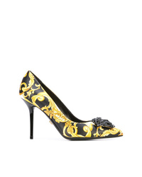 Versace Signature Print Pumps