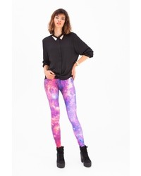 Leggings purple nebula multi medium 16935