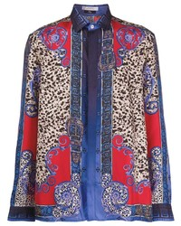 Versace Collection Leopard Print Shirt